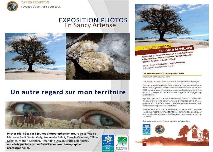 Affiche Expo Sancy