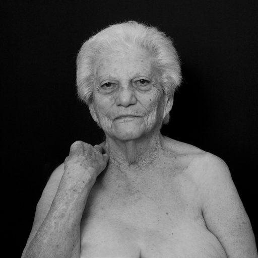 Série de portraits en noir et blanc. L'Autre
